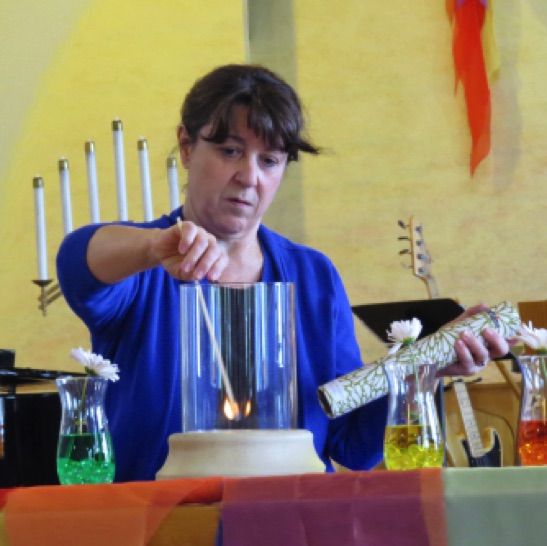 "Roxane, our ""Chancel Empress"", prepares it all with love!"