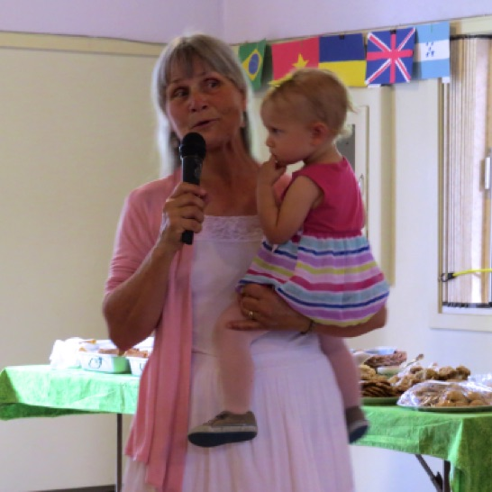 Our MC Tamra and her beautiful granddaughter